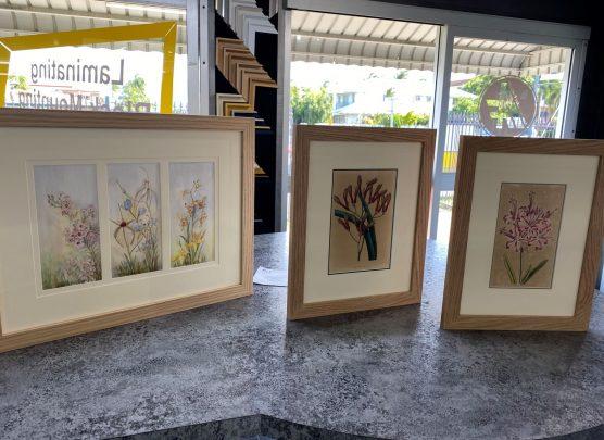 Beautiful Oak frames