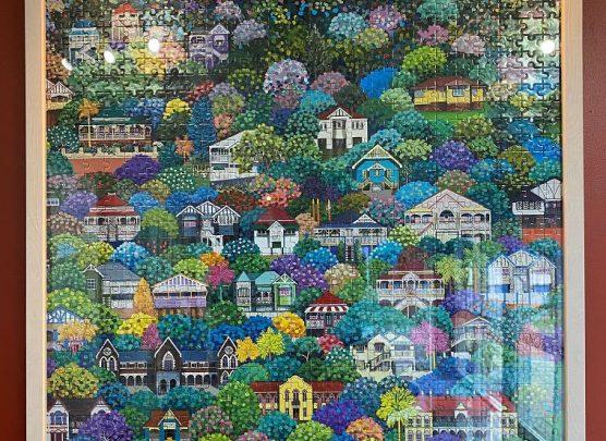 Jigsaw Puzzle Framing